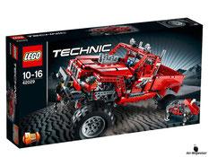"""Bei der Bestellung im Onlineshop der-Wegweiser erhalten Sie das Lego Paket 42029 """"Technic Pick-UP Truck""""."""