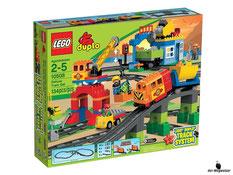 """Bei der Bestellung im Onlineshop der-Wegweiser erhalten Sie das Lego Paket 10508 """"Duplo Eisenbahn""""."""