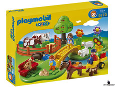 """Bei Bestellung im online Shop der-Wegweiser erhalten Sie das Playmobil Paket 6770 """"Familie Landausflug""""."""