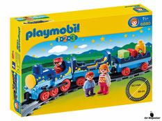 """Bei der Bestellung im Onlineshop der-Wegweiser erhalten Sie das Playmobil Paket 6880 """"Sternchenbahn mit Schienenkreis""""."""