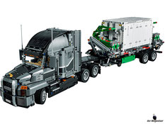 Im Paket Lego 42078 sind 2595 Einzelteile mit einer Anleitung enthalten.
