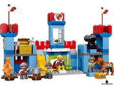 Im Paket Lego 10577 sind 135 Einzelteile mit einer Anleitung enthalten.