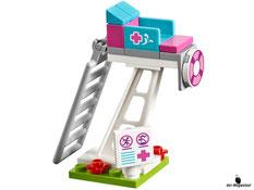 Die  Besonderheit im Lego Paket 41313 ist das 10m Sprungbrett.