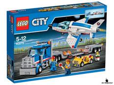 """Bei der Bestellung im Onlineshop der-Wegweiser erhalten Sie das Lego Paket 60079 """"Lego Weltraumjet mit Transporter""""."""