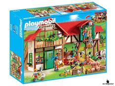 """Bei der Bestellung im Onlineshop der-Wegweiser erhalten Sie das Playmobil Paket 6120 """"Grosser Bauernhof""""."""