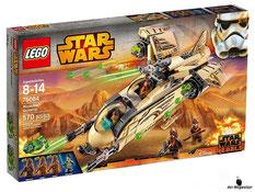 """Bei Bestellung im online Shop der-Wegweiser erhalten Sie das Lego Paket 75084 """"Star Wars Wookiee Gunship""""."""