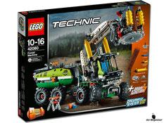 """Bei der Bestellung im Onlineshop der-Wegweiser erhalten Sie das Lego Paket 42080 """"Harvester-Forstmaschine""""."""