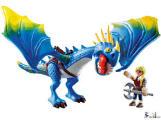 Besonderheiten im Playmobil Paket 9244 sind zwei funktionierende Armbrüste, damit kann man die Drachen fangen.