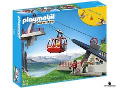 """Bei der Bestellung im Onlineshop der-Wegweiser erhalten Sie das Playmobil Paket 5426 """"Seilbahn mit Bergstation""""."""