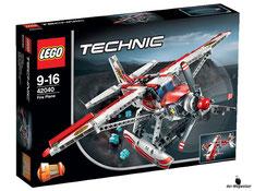 """Bei der Bestellung im Onlineshop der-Wegweiser erhalten Sie das Lego Paket 42040 """"Technic Löschflugzeug""""."""