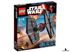 """Bei der Bestellung im Onlineshop der-Wegweiser erhalten Sie das Lego Paket 75101 """"Star Wars First order Special Forces Tie Fighter""""."""