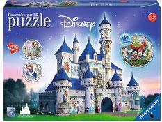"""Bei der Bestellung im Onlineshop der-Wegweiser erhalten Sie das Ravensburger Paket 125876 """"Disney Schloss""""."""