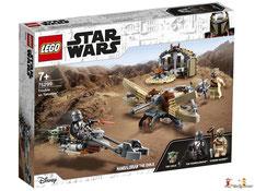 """Bei der Bestellung im Onlineshop der-Wegweiser erhalten Sie das Lego Paket 75104 """"Star Wars Command Shuttle""""."""