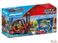 """Bei der Bestellung im Onlineshop der-Wegweiser erhalten Sie das Playmobil Paket 9371 """"Geldtransporter""""."""