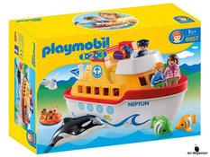 """Bei Bestellung im online Shop der-Wegweiser erhalten Sie das Playmobil Paket 6957 """"Mein Schiff zum Mitnehmen""""."""