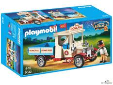 """Bei der Bestellung im Onlineshop der-Wegweiser erhalten Sie das Playmobil Paket 9042 Zirkus Roncalli """"Oldtimer Truck Vintage""""."""