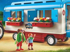 Das Besonderheit im Playmobil Paket 9041 ist ein abnehmbares Dach.