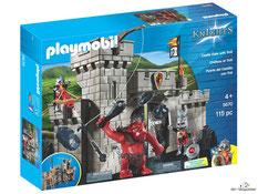 """Bei der Bestellung im Onlineshop der-Wegweiser erhalten Sie das Playmobil Paket 5670 """"Burgtor mit Riesentroll""""."""