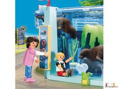 Besonderheiten im Playmobil Paket 9482 ist eine funktionierende Schiessbude, Schiffschaukel und ein Kettenkarussel.