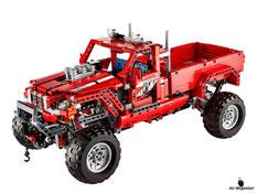 Im Paket Lego 42029 sind 1063 Einzelteile und eine Anleitung enthalten.