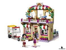 Im Paket Lego 41311 sind 289 Einzelteile enthalten.