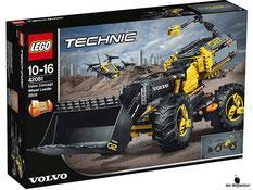 """Bei der Bestellung im Onlineshop der-Wegweiser erhalten Sie das Lego Paket 42081 """"Lego Technic Volvo Konzept-Radlader ZEUX""""."""
