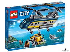 """Bei der Bestellung im Onlineshop der-Wegweiser erhalten Sie das Lego Paket 60093 """"City Tiefsee-Helikopter""""."""