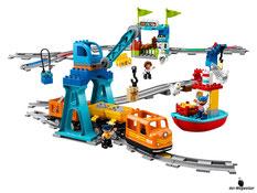 Im Paket Lego 10875 sind 105 Einzelteile enthalten.