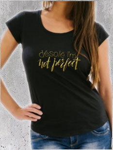 tee shirt femme parfaite