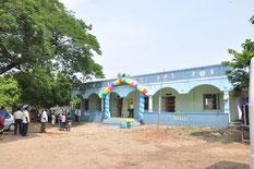 Construction de l'école primaire de Gengapattu