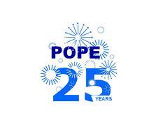 Le 25ème anniversaire de POPE