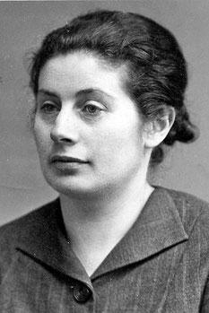 Erna Simon, später verh. Kemeter