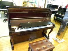 ピアノブラインドをアップライトに取り付け通常のセット