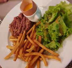 Bali Cafe Restaurant Seminyak Beef Tatar