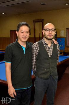 竹島欧プロ(左)&水内誠ニプロ 共にJPBF