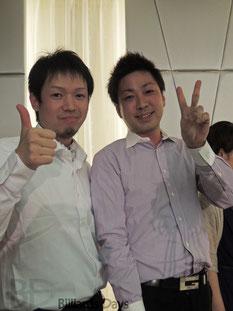 赤狩山幸男&大井直幸(共にJPBA)