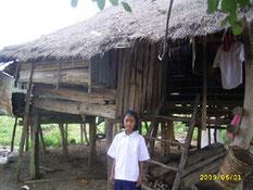 ด.ญ.กุยามล เวสนุกุล นักเรียนที่ได้รับทุน