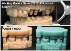 Workiing Model - Sirona CEREC AC interoral Scanner