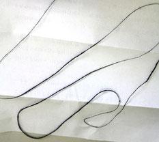 太さや形など不規則なスラブ糸を生産できる職人さんも少なくなったそう