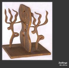 Holzskulptur von Haral Schloten