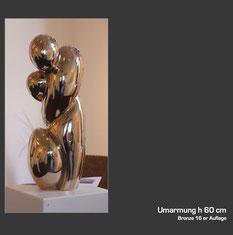 Bronzeskulptur von Bernhard Petz
