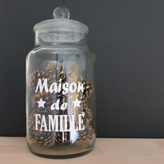 sticker maison famille