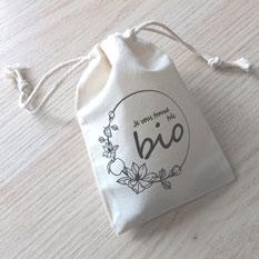 sac en coton bio zéro déchet