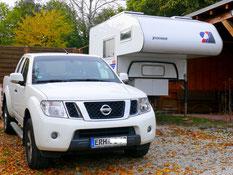 Nissan mit Tischer-Kabine