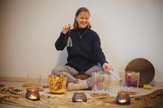 Kristall, Kristallklangschalen, Kristallklangschalenkonzert, Kirsten Schäfer