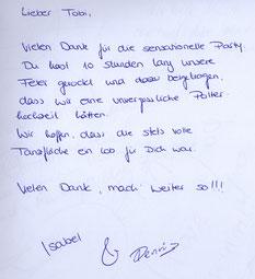 Hochzeits-DJ Empfehlung für Gifhorn. Sensationelle Party auf einer Polterhochzeit.