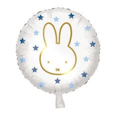 Folieballon Nijntje € 2,50 blauw 45 cm