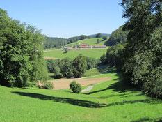 Blick zum Eigenhof