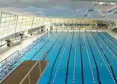 Im öffentlichen Schwimmbad