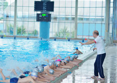 En cours de natation